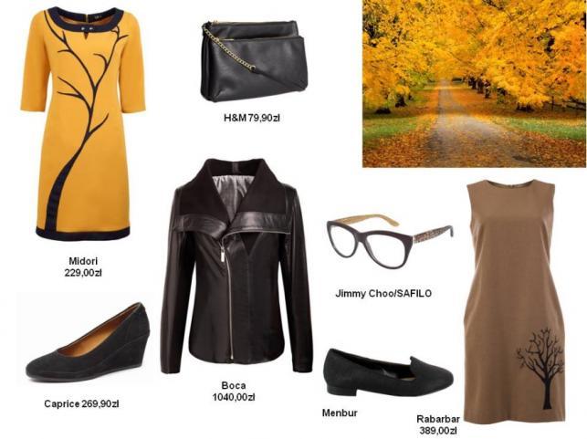 Modne stylizacje inspirowane kolorami jesieni