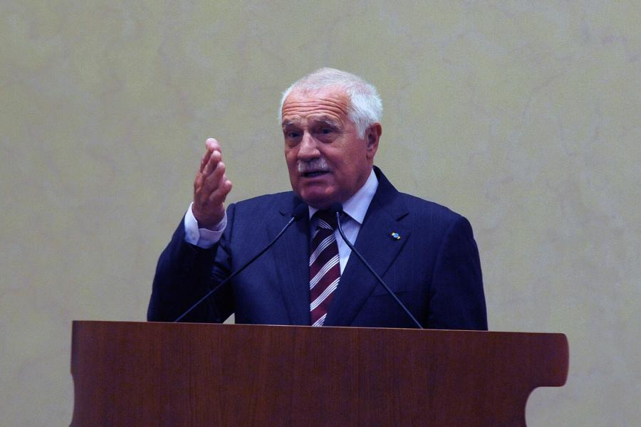 Były prezydent Czech Vaclav Klaus