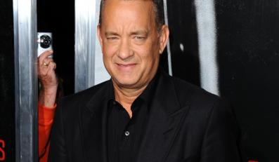 "Tom Hanks na premierze filmu ""Kapitan Phillips"""