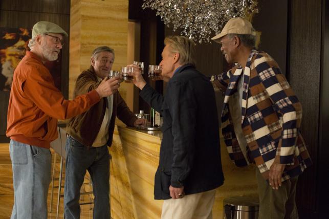 """Michael Douglas, Robert De Niro, Morgan Freeman i Kevin Kline w """"Last Vegas"""""""