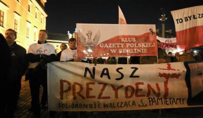 Uroczystości PiS w  Warszawie