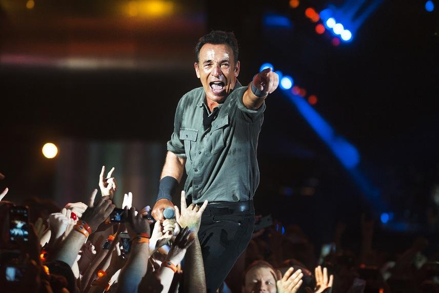 Bruce Springsteen na szczycie w Wielkiej Brytanii