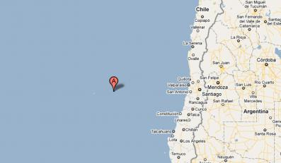 40-metrowe tsunami uderzyło w wyspę Juan Fernandez