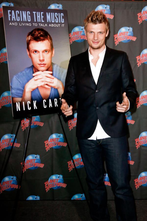 Nick Carter w październiku 2013 roku