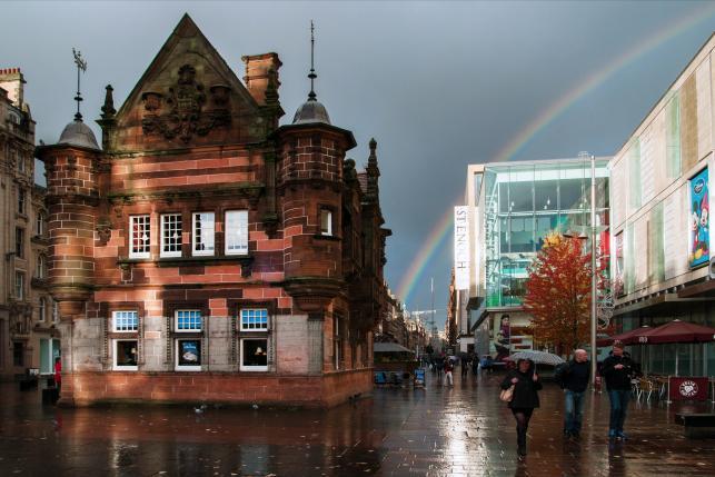 MIEJSCE 14. Glasgow, stolica Szkocji