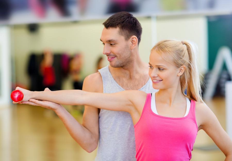 Zajęcia fitness z trenerem osobistym