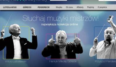 Strona portalu trzejkompozytrzy.pl