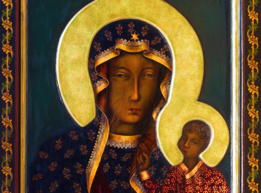 Fantastyczny Profanacja obrazu Matki Bożej. Skandal w Kalwarii Pacławskiej TJ83