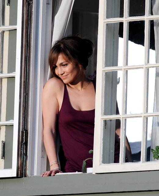 """Jennifer Lopez na planie """"The Boy Next Door"""""""