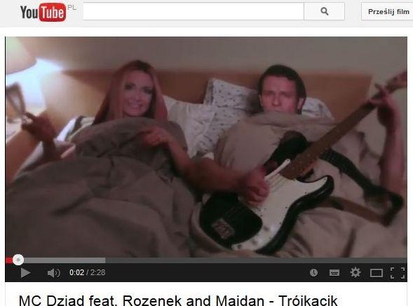 Majewski w łóżku z Rozenek i Majdanem