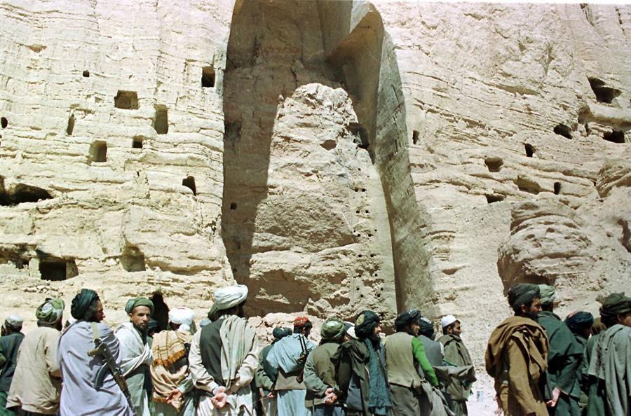 Posągi z doliny Bamian, Afganistan