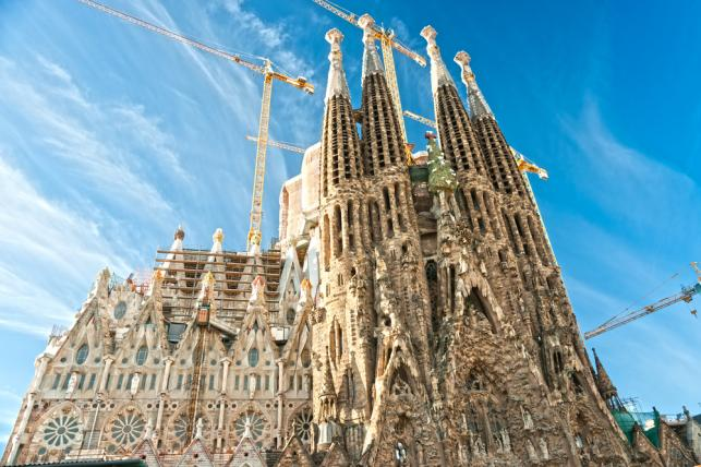 Sagrada Familia w Barcelonie, Hiszpania