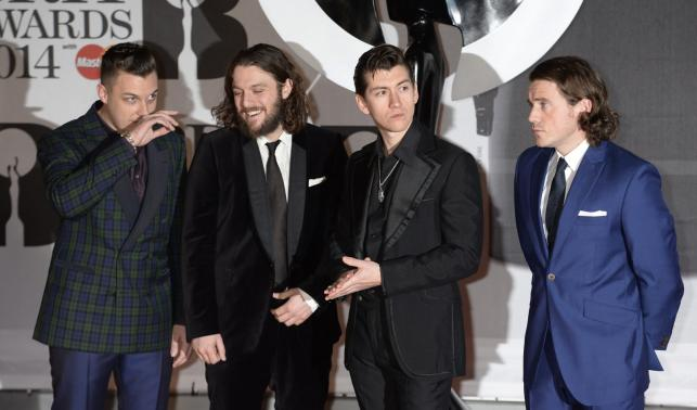 Najlepszy brytyjski zespół: Arctic Monkeys