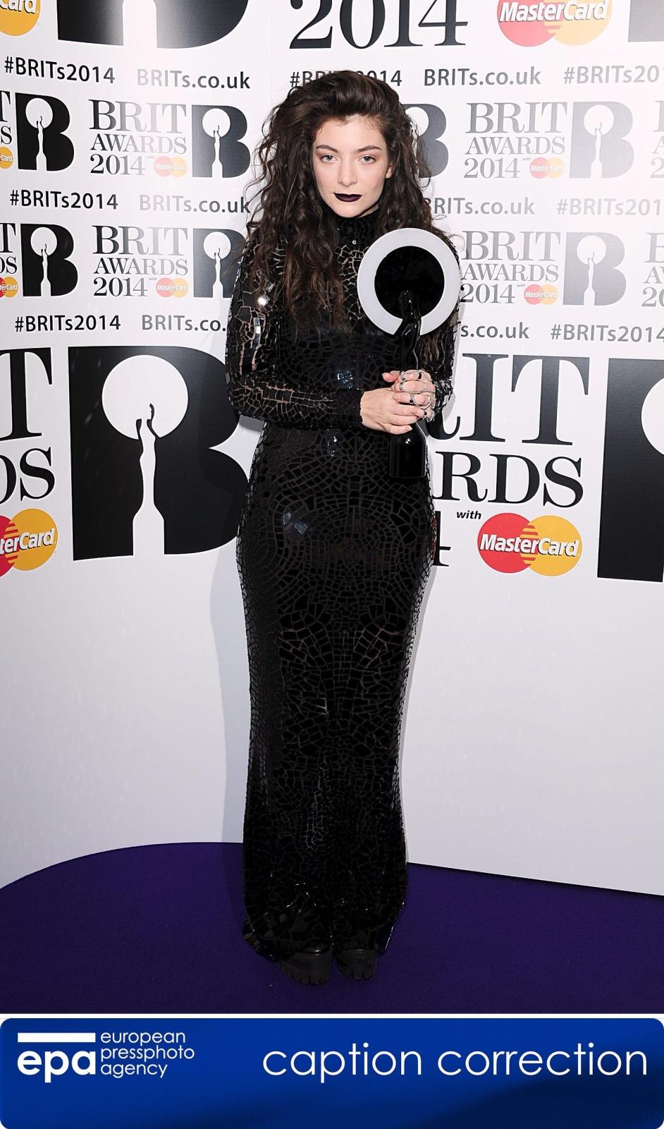 Najlepsza artystka światowa: Lorde