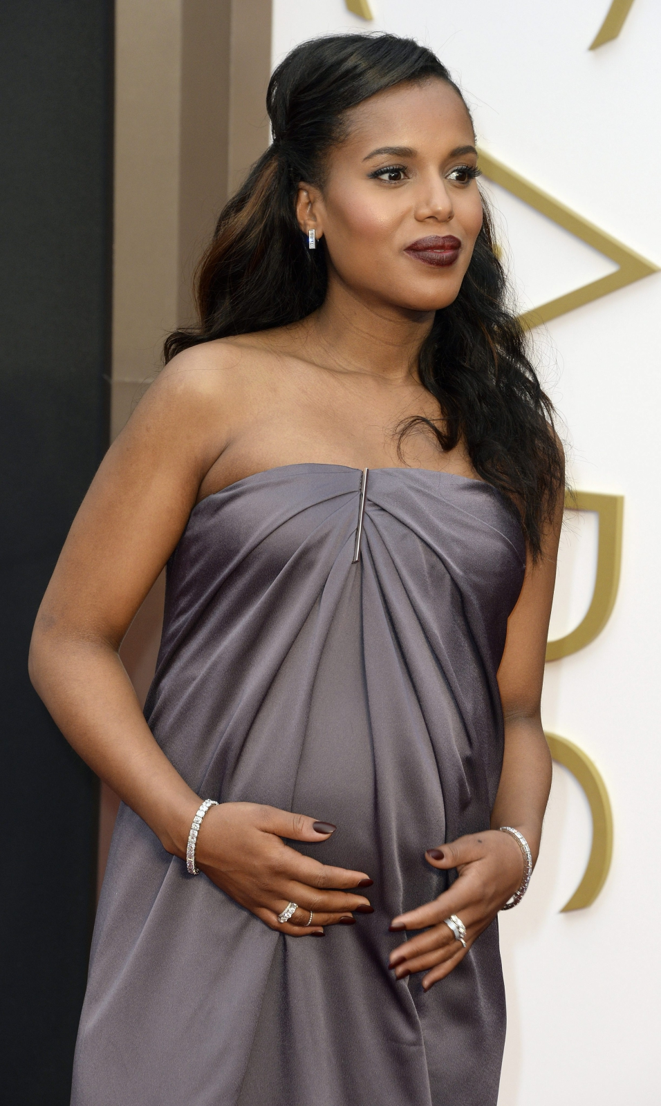 Kerry Washington na gali Oscarów 2014