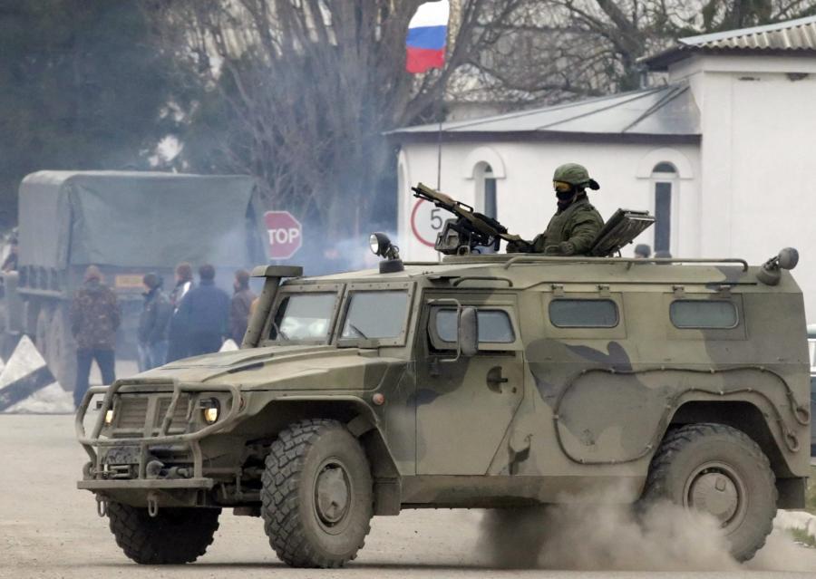 Rosyjskie jednostki na Krymie