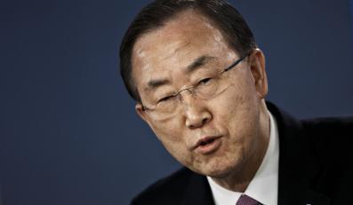 Szef ONZ Ban ki-Moon