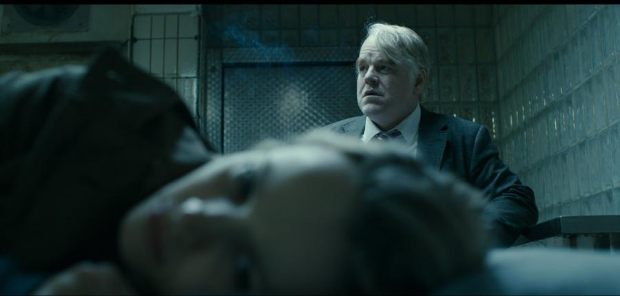 "Philip Seymour Hoffman w filmie ""A Most Wanted Man"""