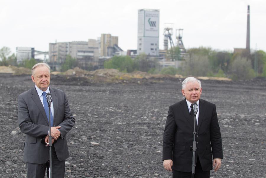 Jarosław Kaczyński, Bolesław Piecha