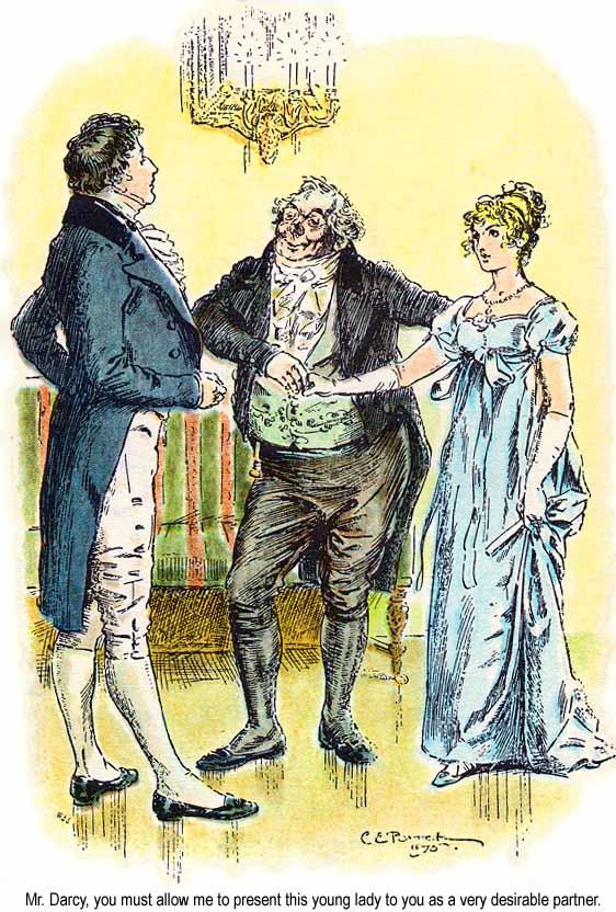 Ilustracja do rozdziału 6. Dumy i uprzedzenia (1895)