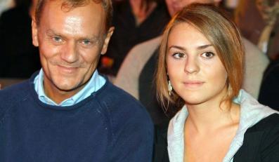 Donald Tusk z córką Katarzyną