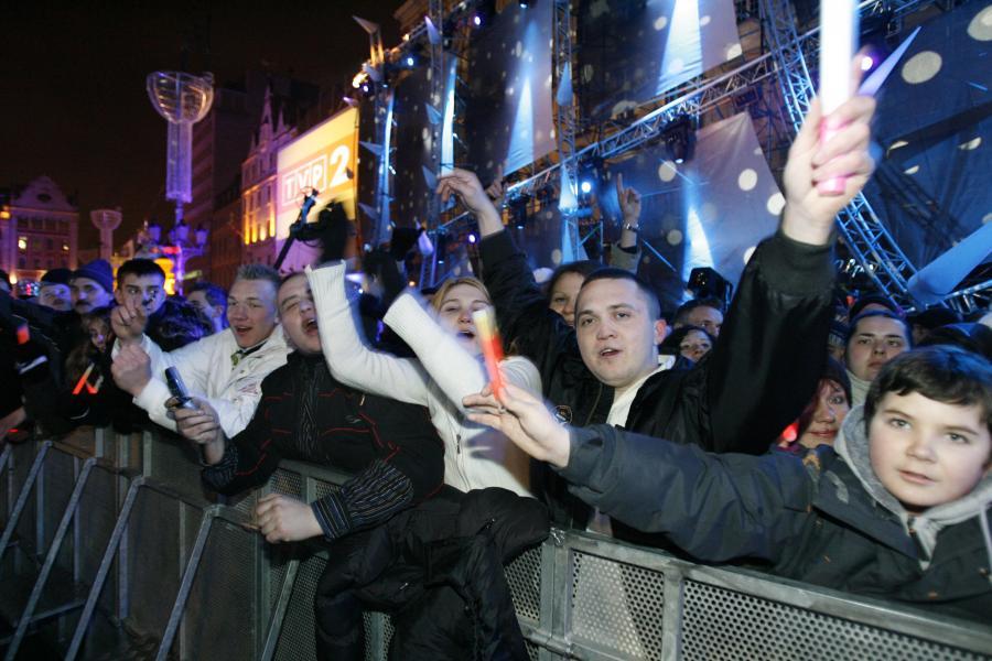 Publiczność na koncercie we Wrocławiu