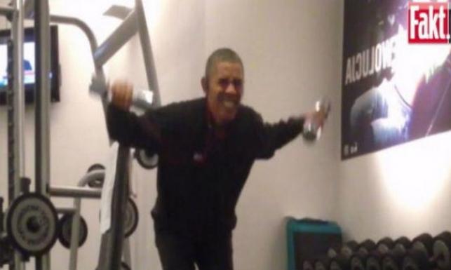 Ćwicz jak Obama! Sprawdź, jak działa prezydencki trening. ZDJĘCIA