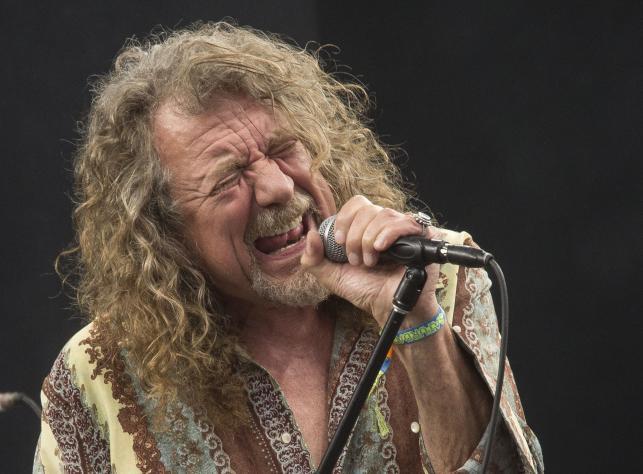 Robert Plant był gwiazdą Glastonbury Festival 2014
