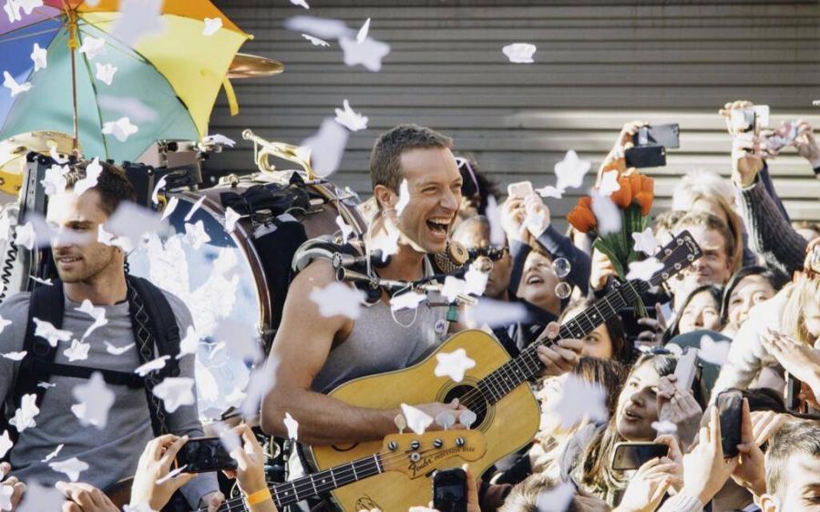 Trzy dodatkowe utwory od Coldplay