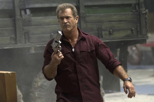 """Mel Gibson w filmie """"Niezniszczalni 3"""""""