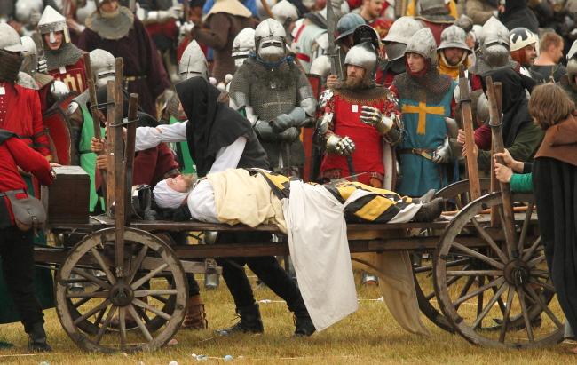 Inscenizacja bitwy pod Grunwaldem