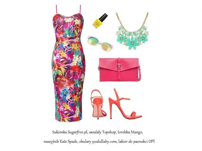 Letnie rozkwitanie: STYLIZACJE z sukienkami w kwiaty