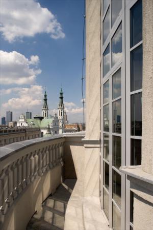Warszawski apartament w wieży