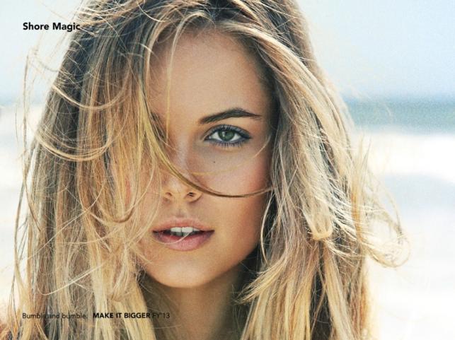 W stylu surferki - modny makijaż na lato 2014