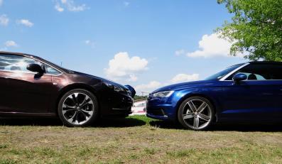 Opel cascada i audi A3 cabriolet