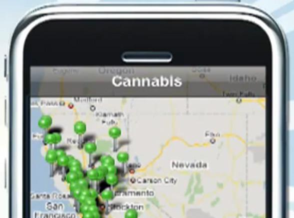 iPhone pomoże znaleźć marihuanę