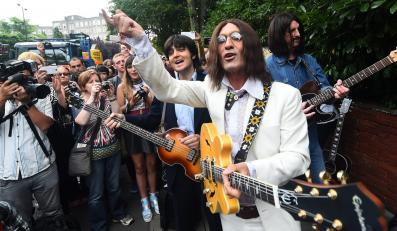 "Fani Beatles świętowali 45-lecie albumu ""Abbey Road"""