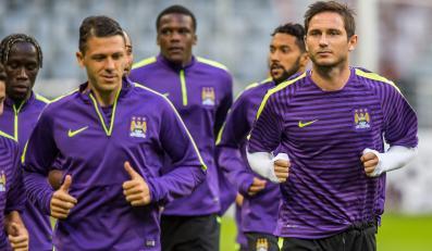 Trening Manchesteru City