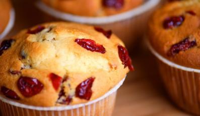 Muffinki z żurawiną