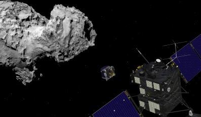 Sonda Rosetta (Fot. Europejska Agencja Kosmiczna)