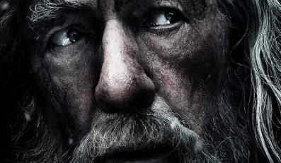 """Gandalf na plakacie nowego """"Hobbita"""""""