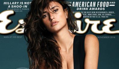 Najseksowniejsza na świecie Penélope Cruz na okładce magazynu Esquire