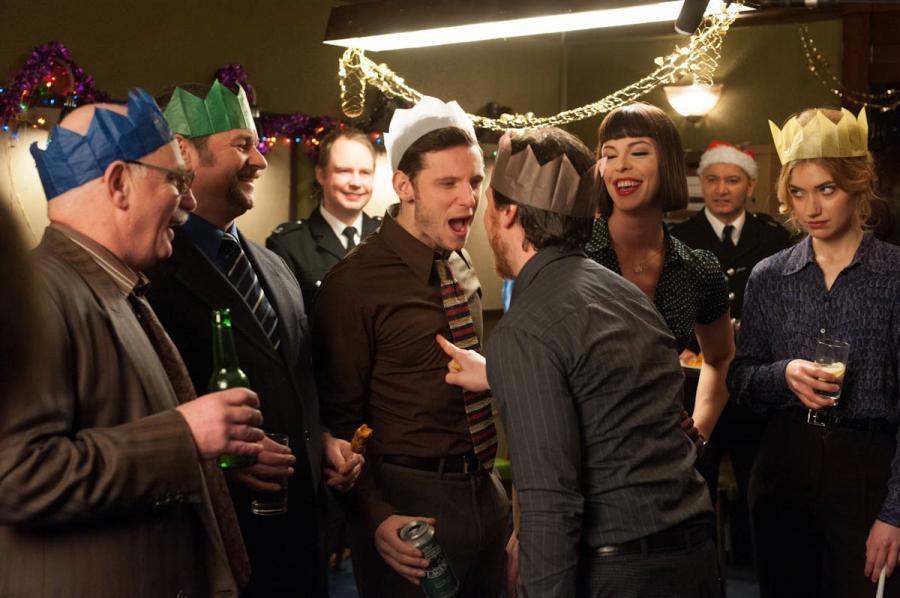"""James McAvoy i Jamie Bell w filmie """"Brud"""""""