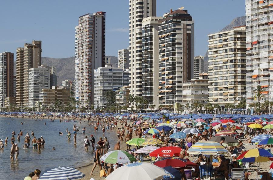 Plaża w okolicach hiszpańskiego Levante