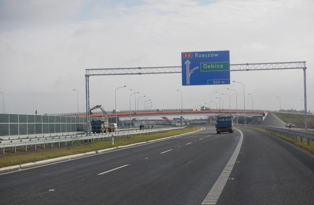 Odcinek autostrady A4 od Rzeszowa do granicy z Ukrainą w Jarosławiu