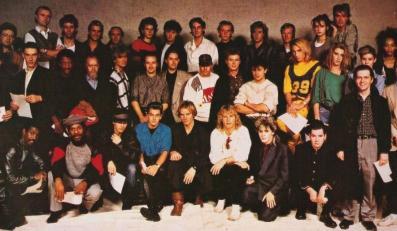 Band Aid w legendarnym składzie z 1984 roku