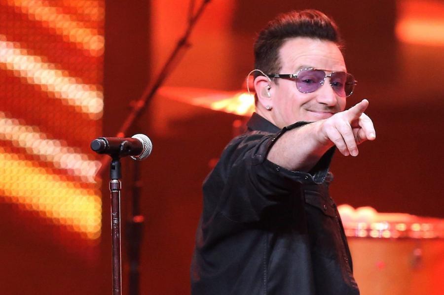 Bono na gali Bambi Awards w Berlinie