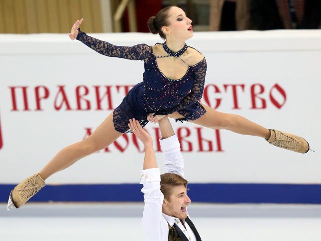 Kristina Astakhova i Alexei Rogonov (Rosja)