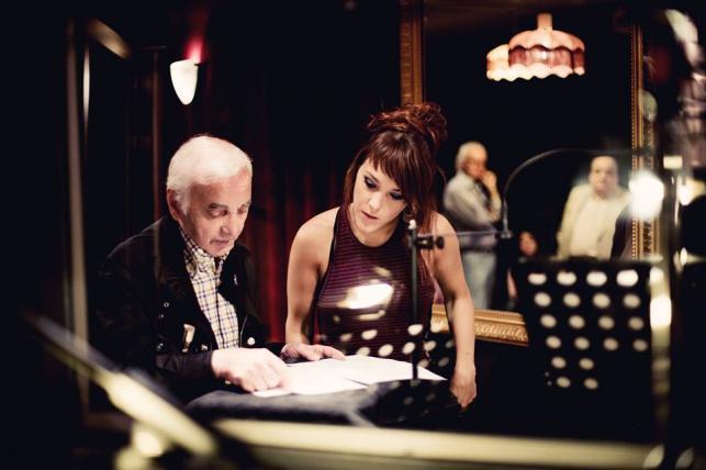 Zaz i wielki Charles Aznavour