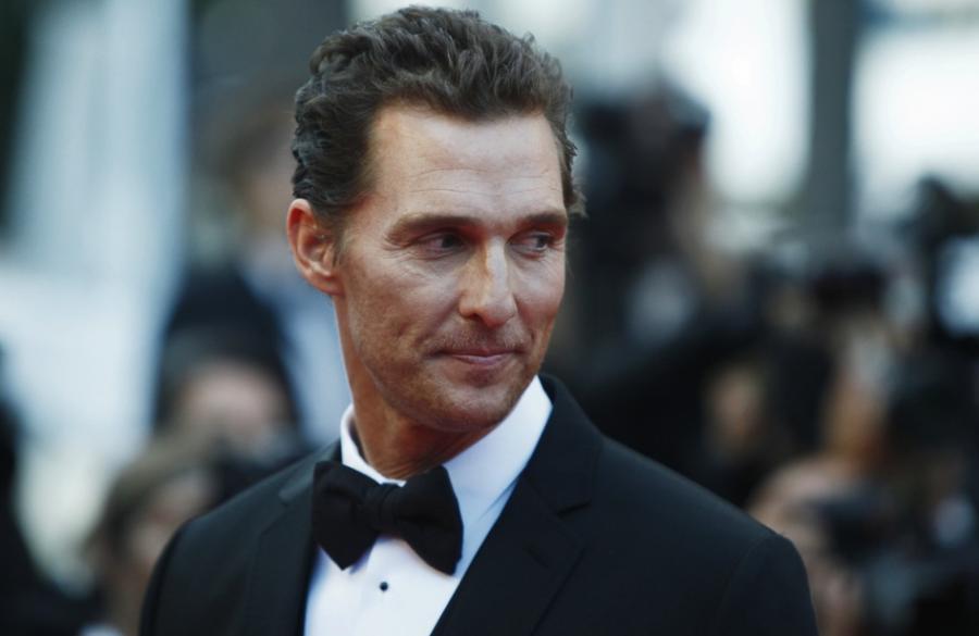 Matthew McConaughey w \